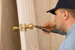 repairing home door lock